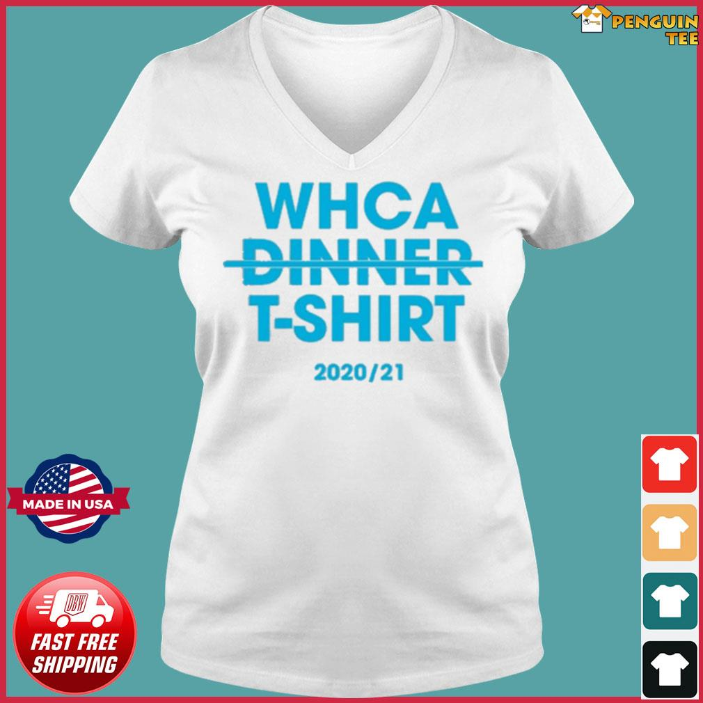 Official WHCA Dinner 2020-21 Shirt Ladies V-neck Tee