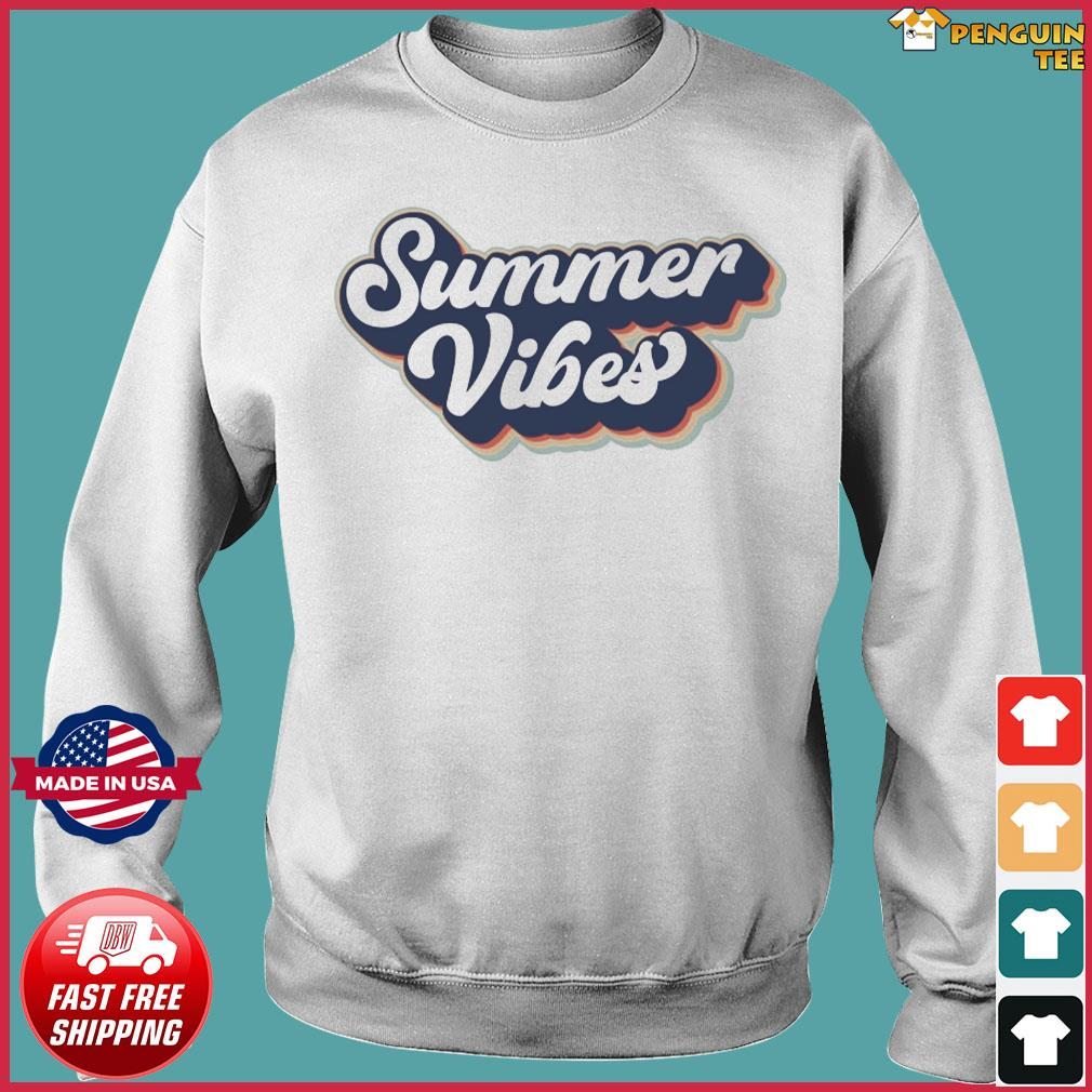 Official Vintage Summer Vibes - Hello Summer 2021 Shirt Sweater
