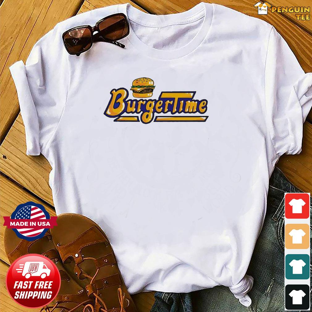 Burger Time Arcade Game Us 2021 T Shirt