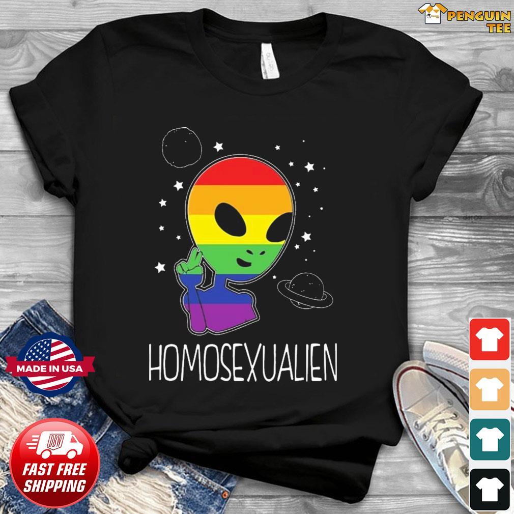 Pride LGBT Alien Homosexualien TeeShirt