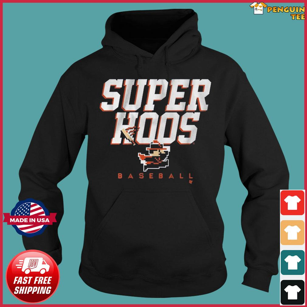 SUPER HOOS CAVMAN Baseball Shirt Hoodie