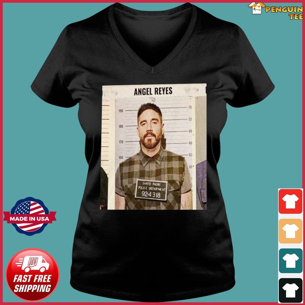 Angel Reyes Shirt Santo Padre Police Department 92 4318 Tee Shirt