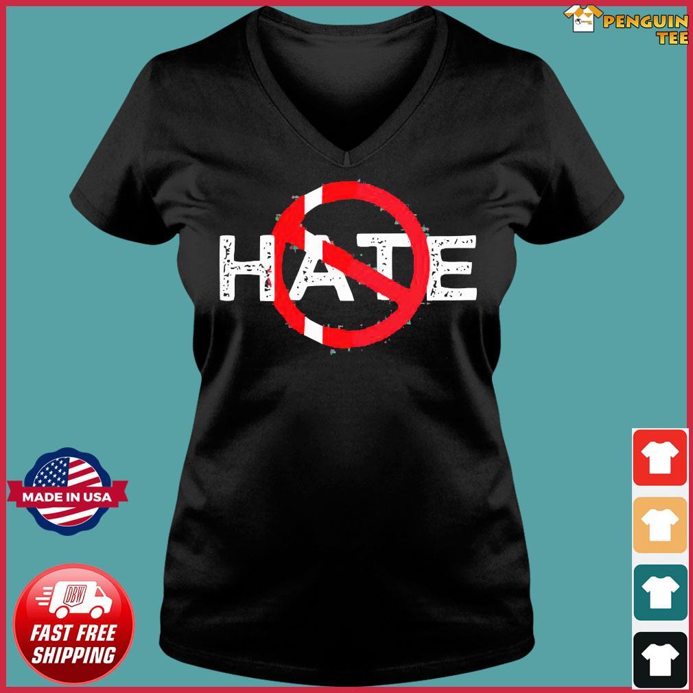 Hate Prohibitive Shirt Ladies V-neck Tee