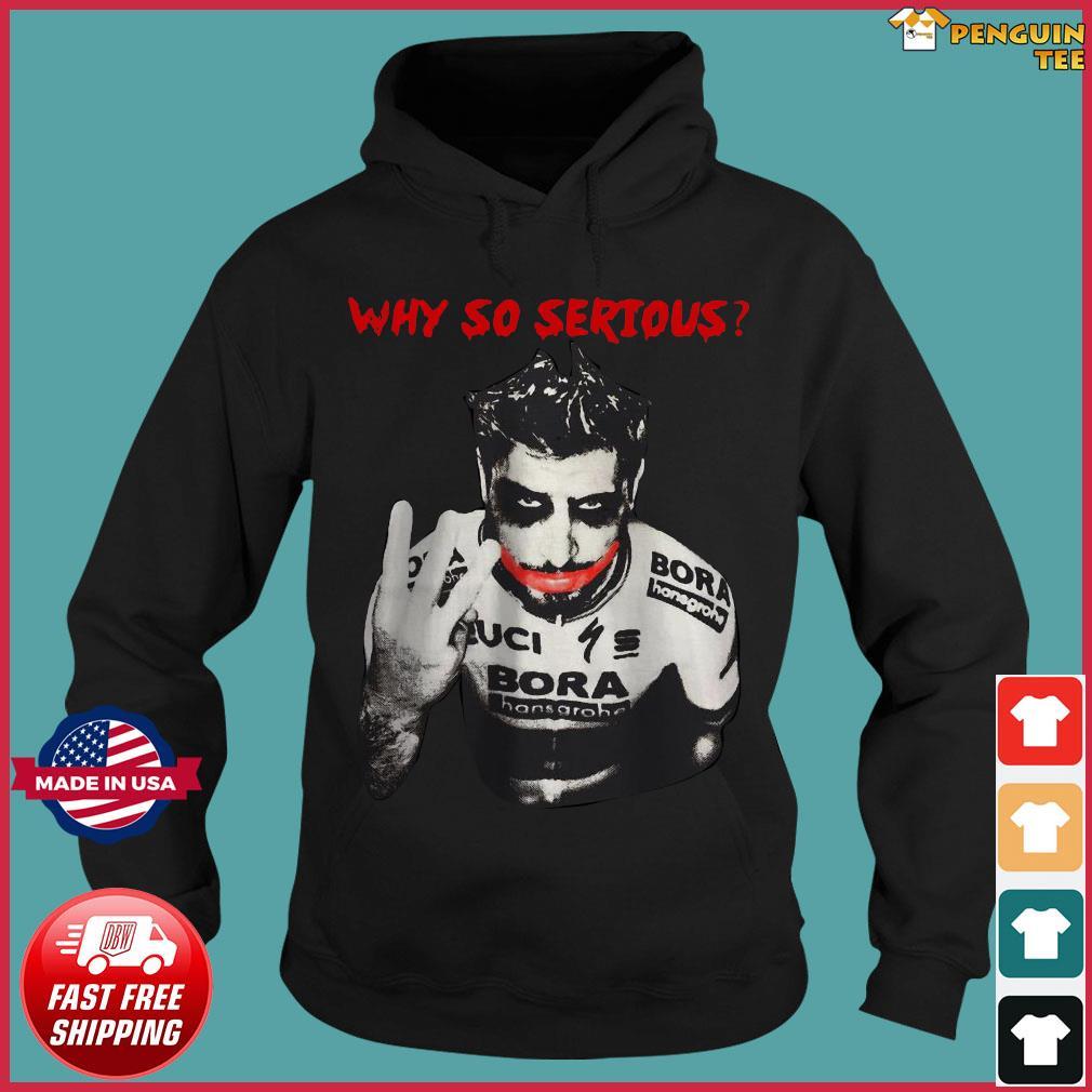 Offcial Peter Sagan Joker why so Serious s Hoodie