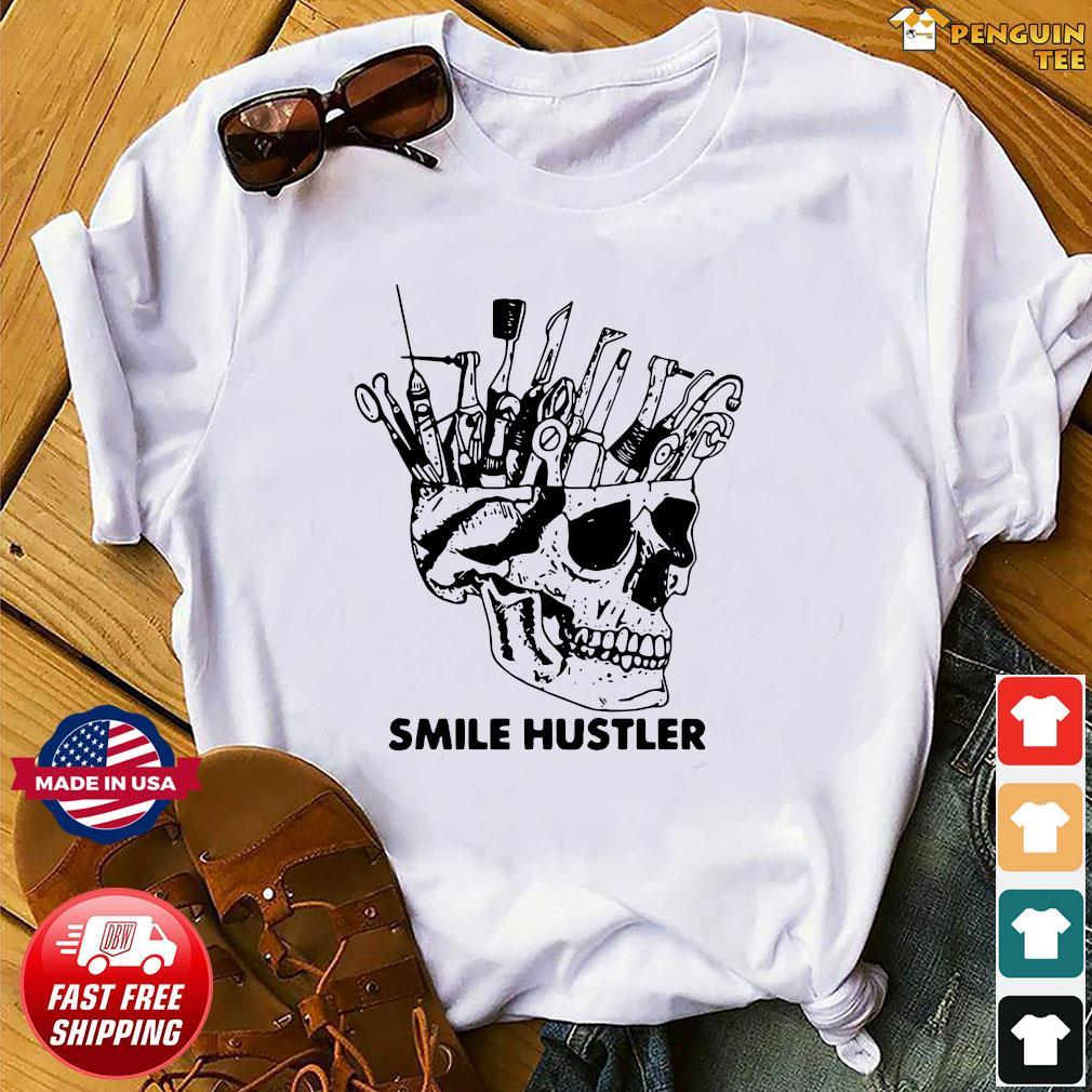 Skull Smile Hustler Shirt