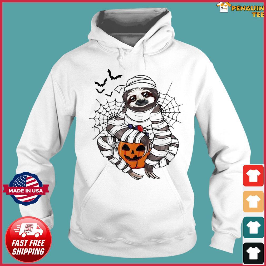 Sloth hug pumpkin Halloween s Hoodie