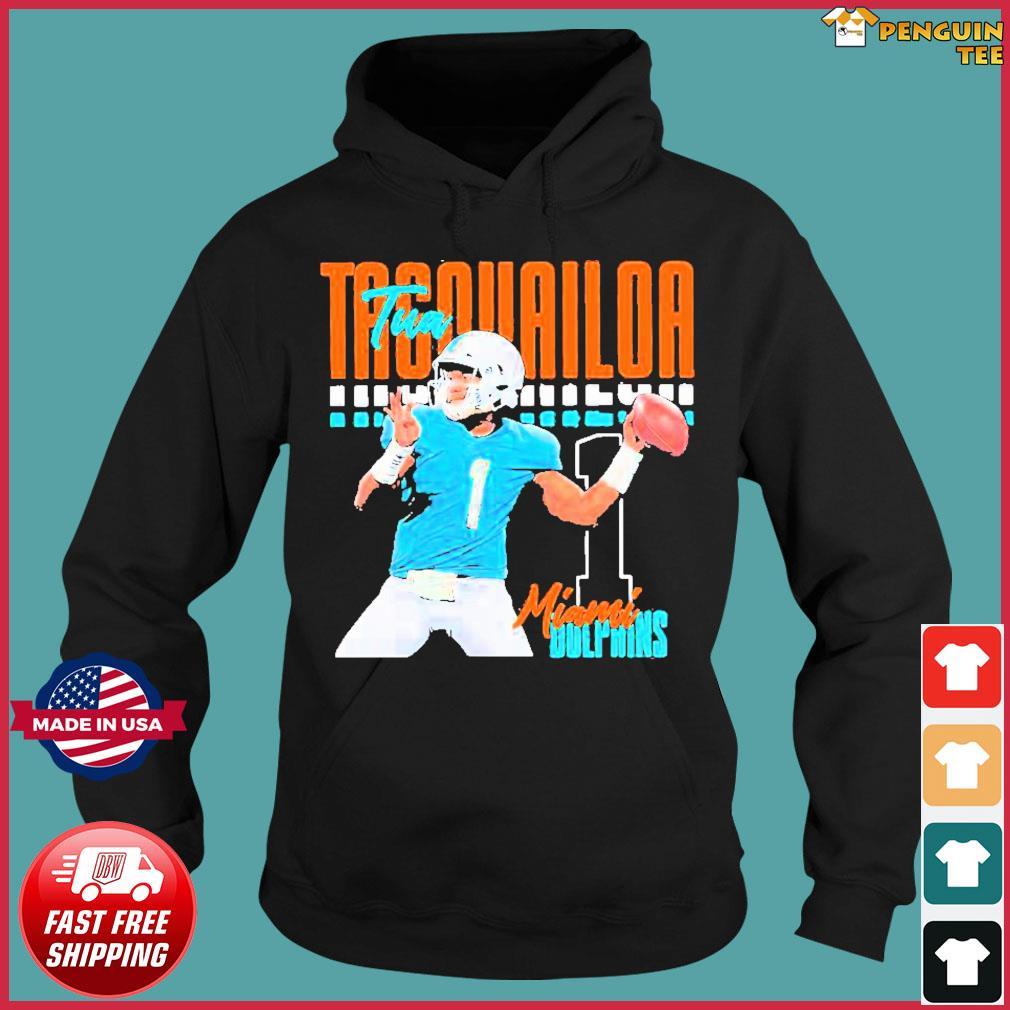 Tua tagovailoa 1 miami dolphins football player Shirt Hoodie