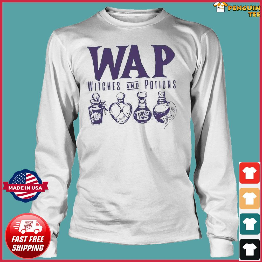 Wap Witches And Potions Shirt Long Sleeve
