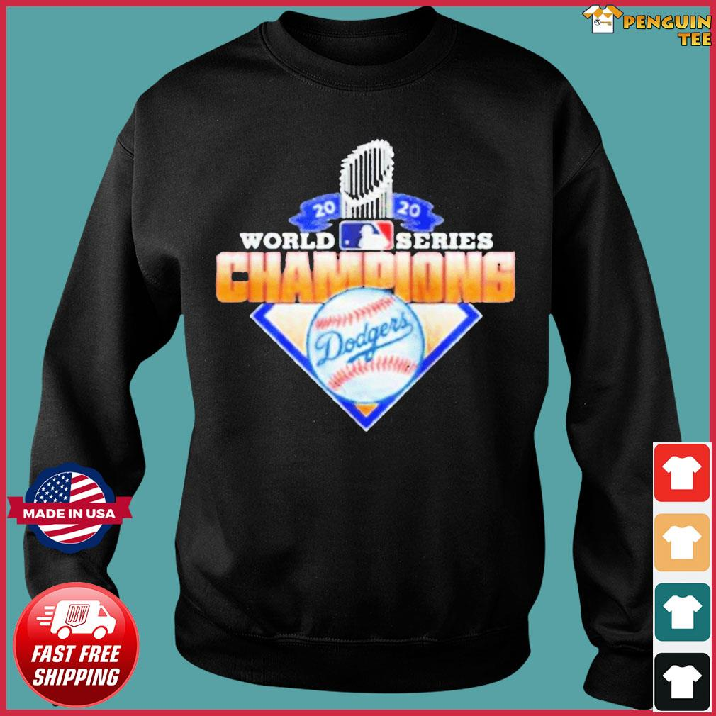 2020 World Series Champions League MLB dodgers T-Shirt Sweater