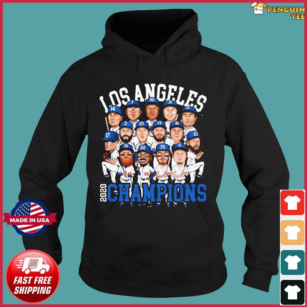 2020 World Series Champions Los Angeles Shirt – Team LA Dodgers 2020 Champions T-Shirt Hoodie