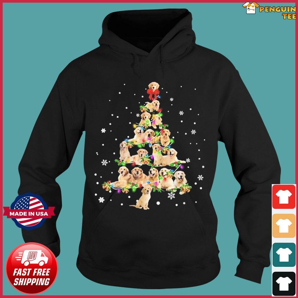 Bulldog Christmas Tree 2020 Sweats Hoodie