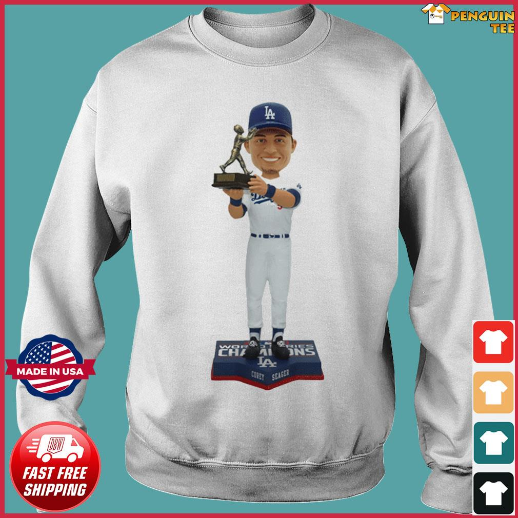 Corey Seager Los Angeles Dodgers 2020 World Series Champions MVP T-Shirt Sweater