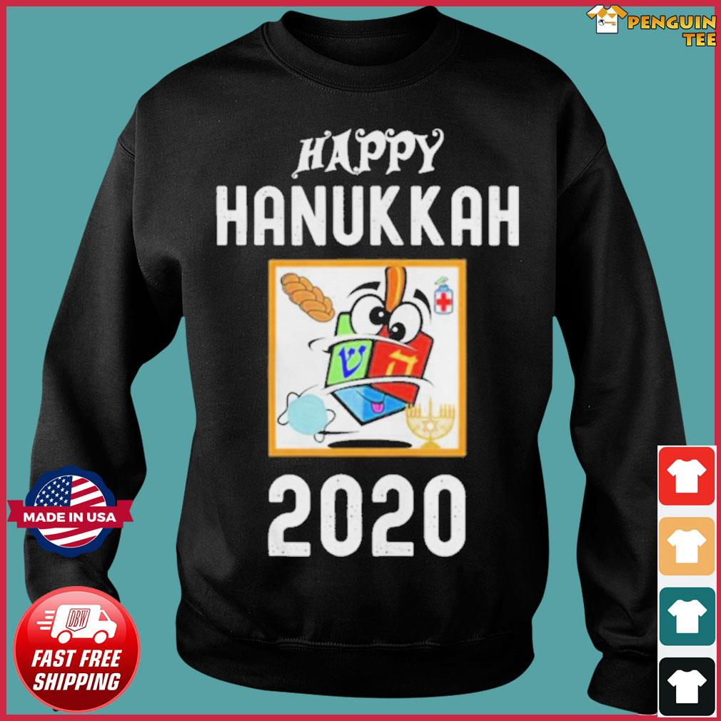 Happy hanukkah 2020 sanitizer and challah s Sweater
