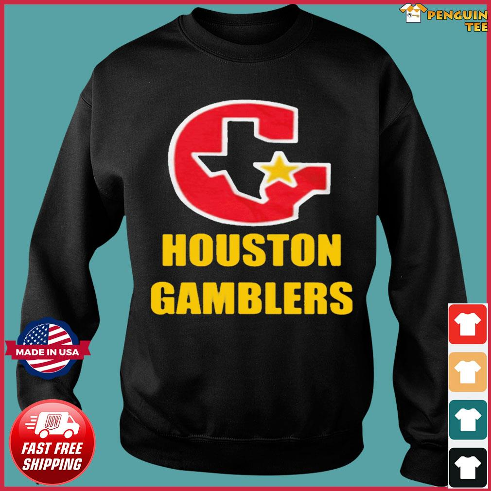 HOUSTON GAMBLERS T-SHIRT Sweater