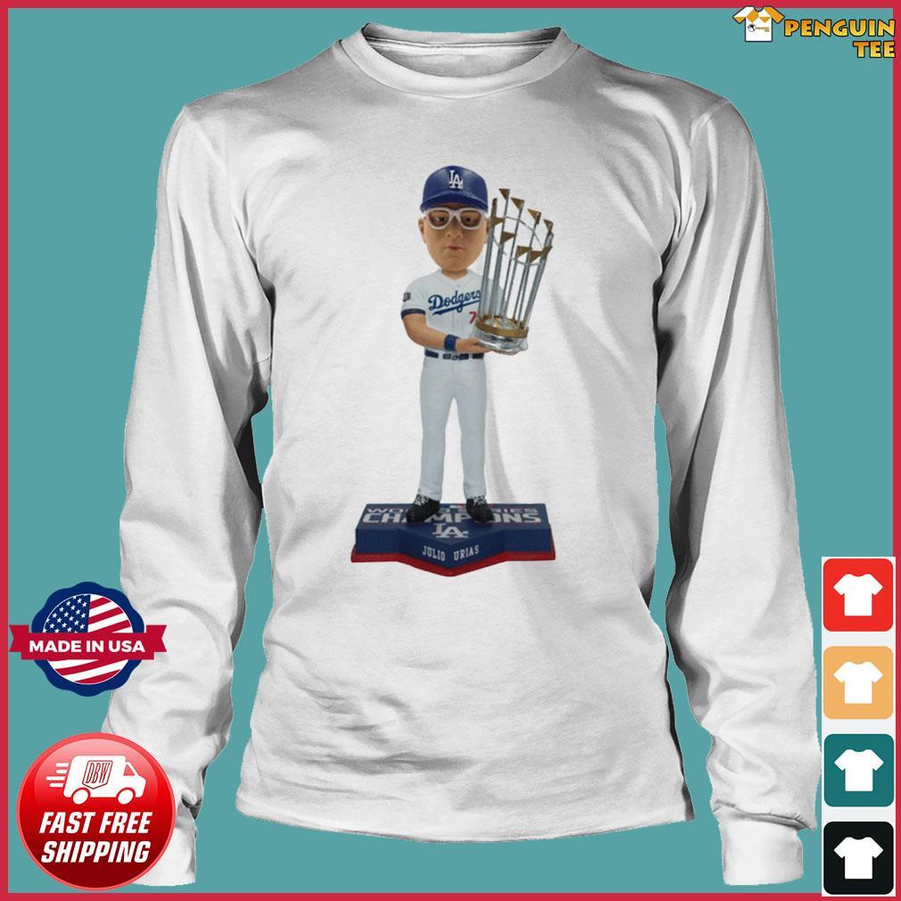 Juilo Urias Los Angeles Dodgers 2020 World Series Champions Shirt Long Sleeve