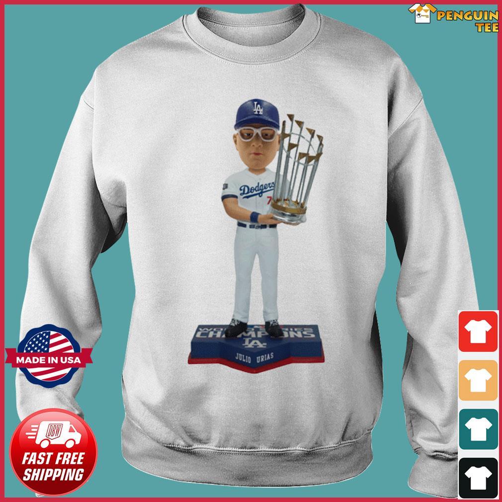 Juilo Urias Los Angeles Dodgers 2020 World Series Champions Shirt Sweater