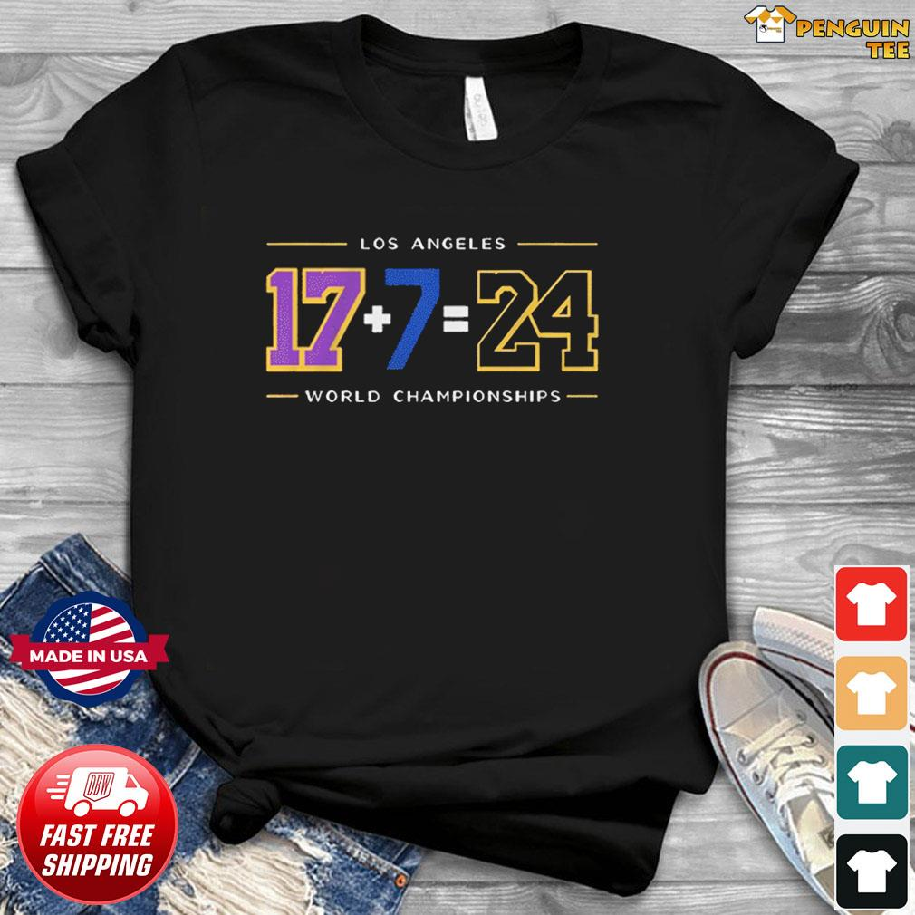 LA24 Shirt – Los Angeles Baseball World Championships T-Shirt