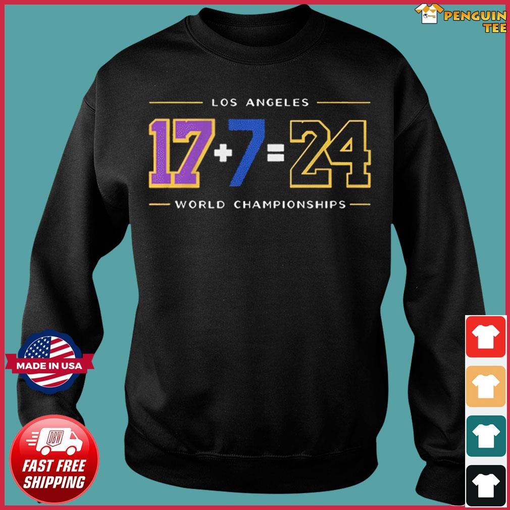 LA24 Shirt – Los Angeles Baseball World Championships T-Shirt Sweater