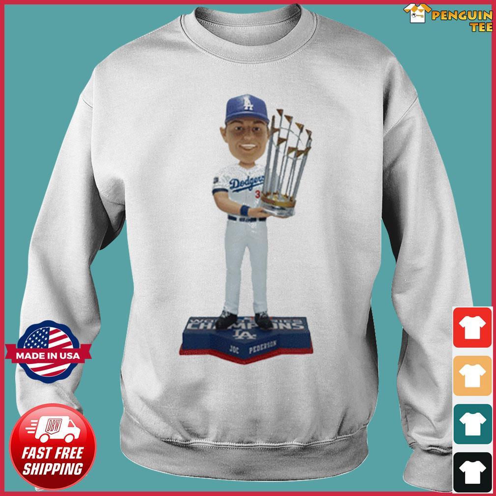 Los Angeles Dodgers 2020 World Series Champions Joc Pederson T-Shirt Sweater