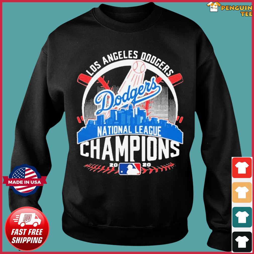 MLB Baseball Los Angeles Dodgers Dodgers National League Champions 2020 LA Dodgers championship Shirt Sweater