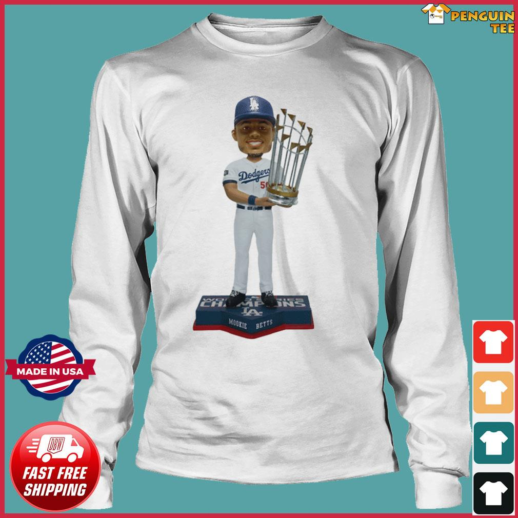 Mookie Betts Los Angeles Dodgers 2020 World Series Champions Shirt Long Sleeve