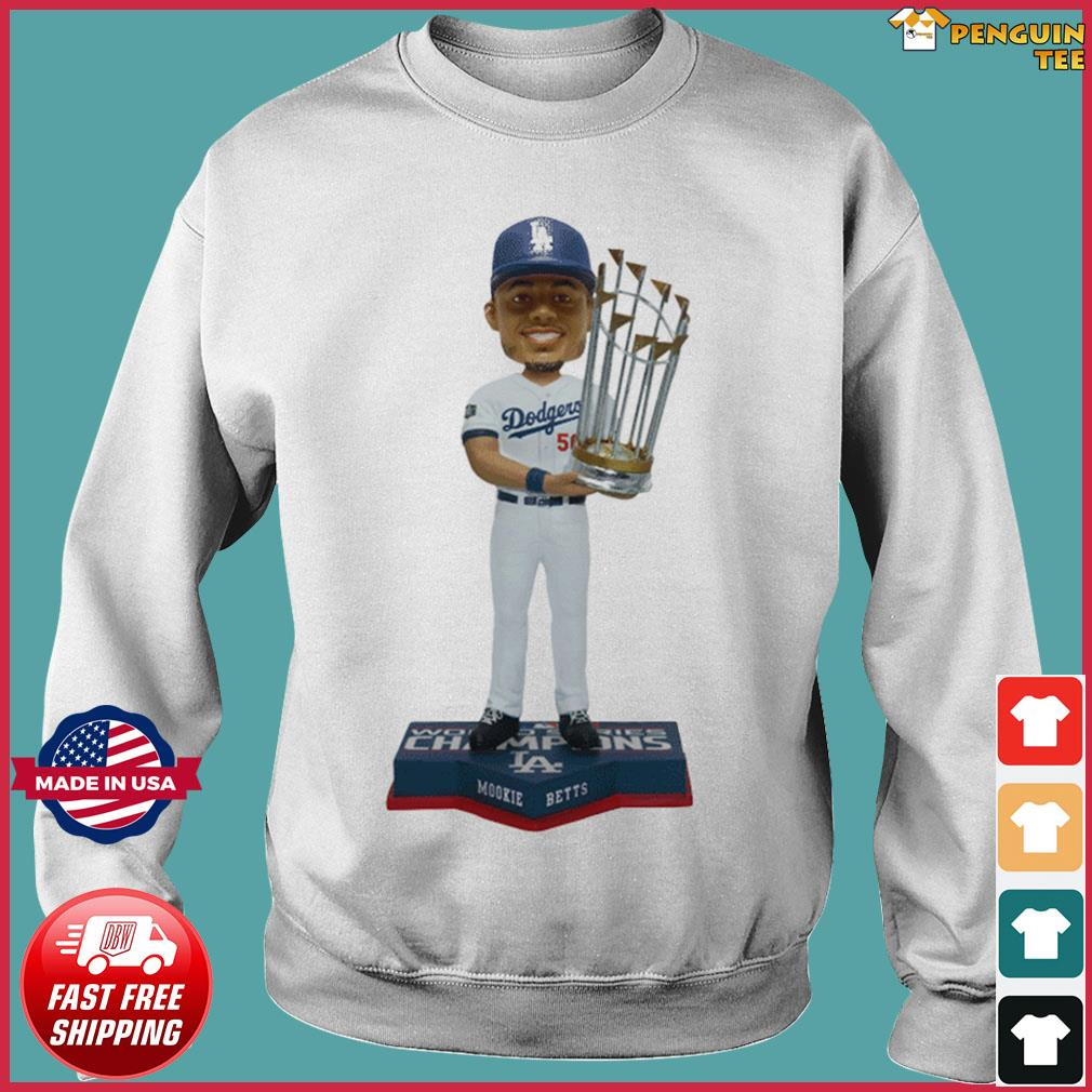 Mookie Betts Los Angeles Dodgers 2020 World Series Champions Shirt Sweater