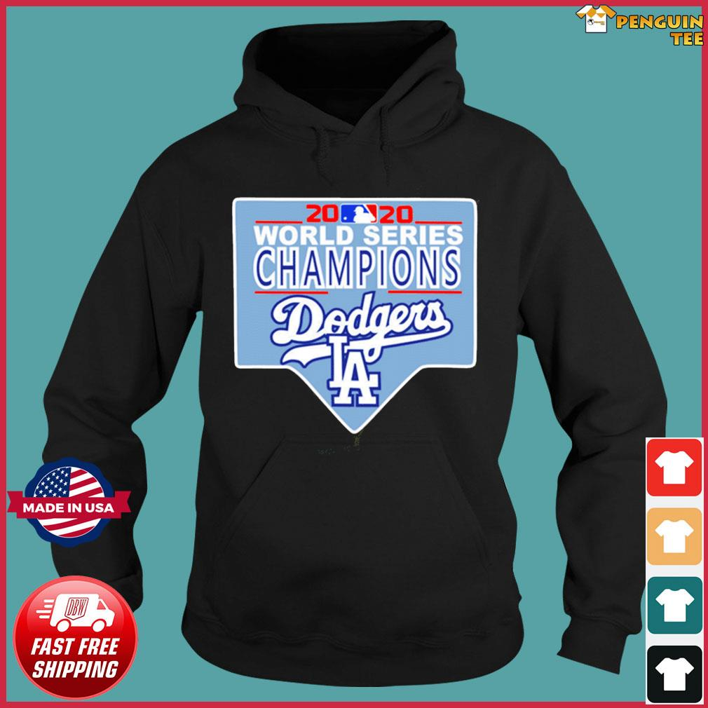 Team LA Dodgers 2020 World Series Champions Shirt Hoodie