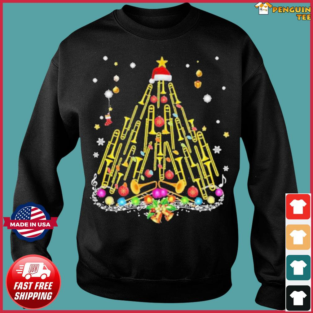 Trumpet Merry Christmas s Sweater