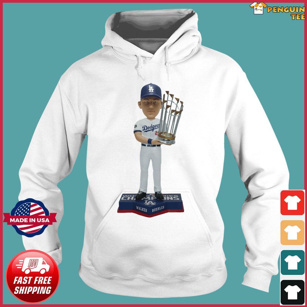 Walker Buehler Los Angeles Dodgers 2020 World Series Champions Gift T-Shirts Hoodie