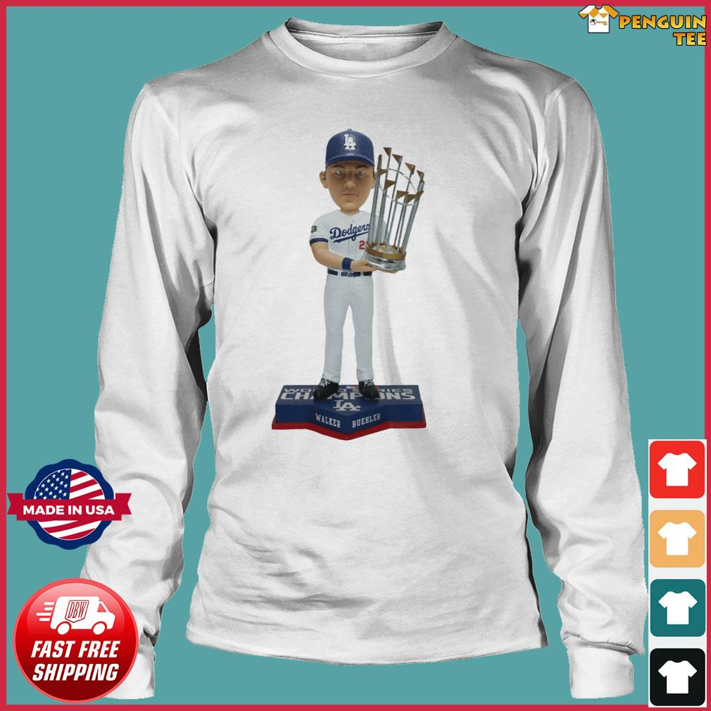 Walker Buehler Los Angeles Dodgers 2020 World Series Champions Gift T-Shirts Long Sleeve