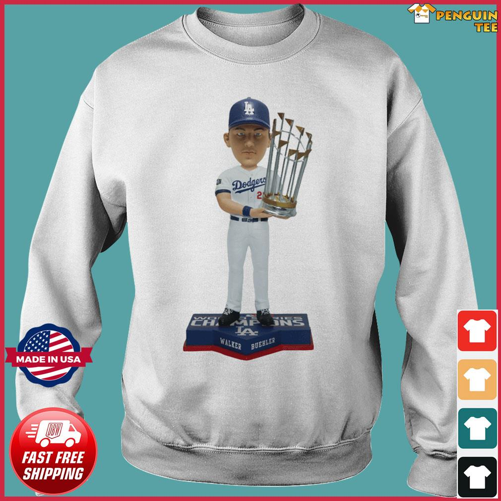 Walker Buehler Los Angeles Dodgers 2020 World Series Champions Gift T-Shirts Sweater