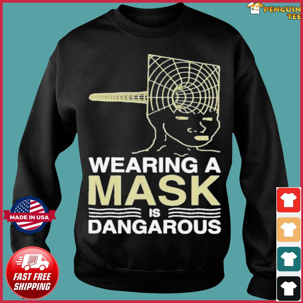 Wearing a mask meme trollface conspiracy theory s Sweater
