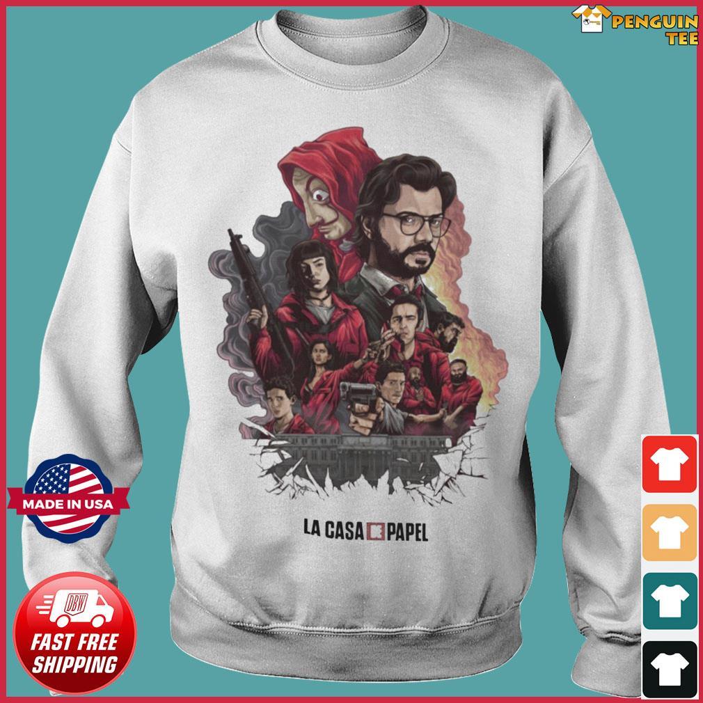 The La Casa De Papel T-s Sweater