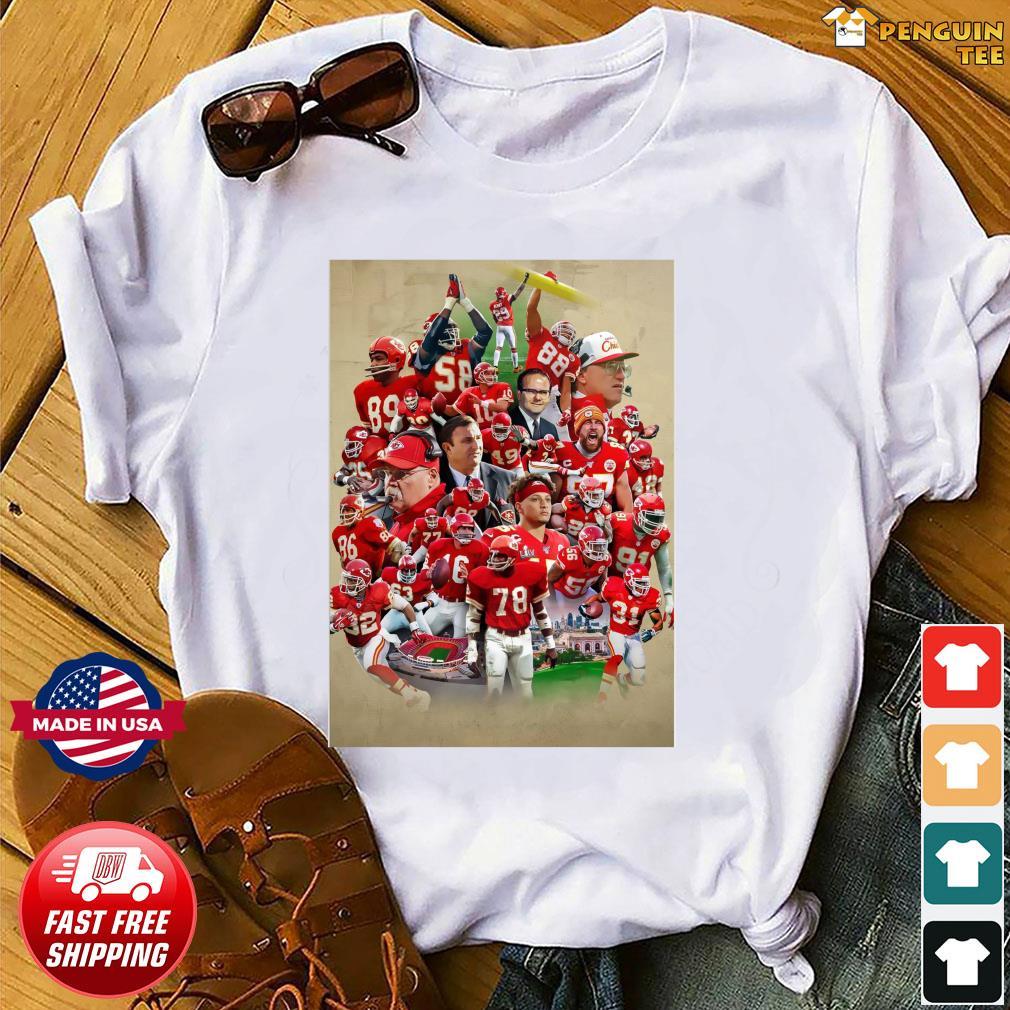 Football, Christmas Day, 2021 Kansas City Chiefs Team Football Full Players 2021 Shirt Hoodie Sweater Long Sleeve And Tank Top