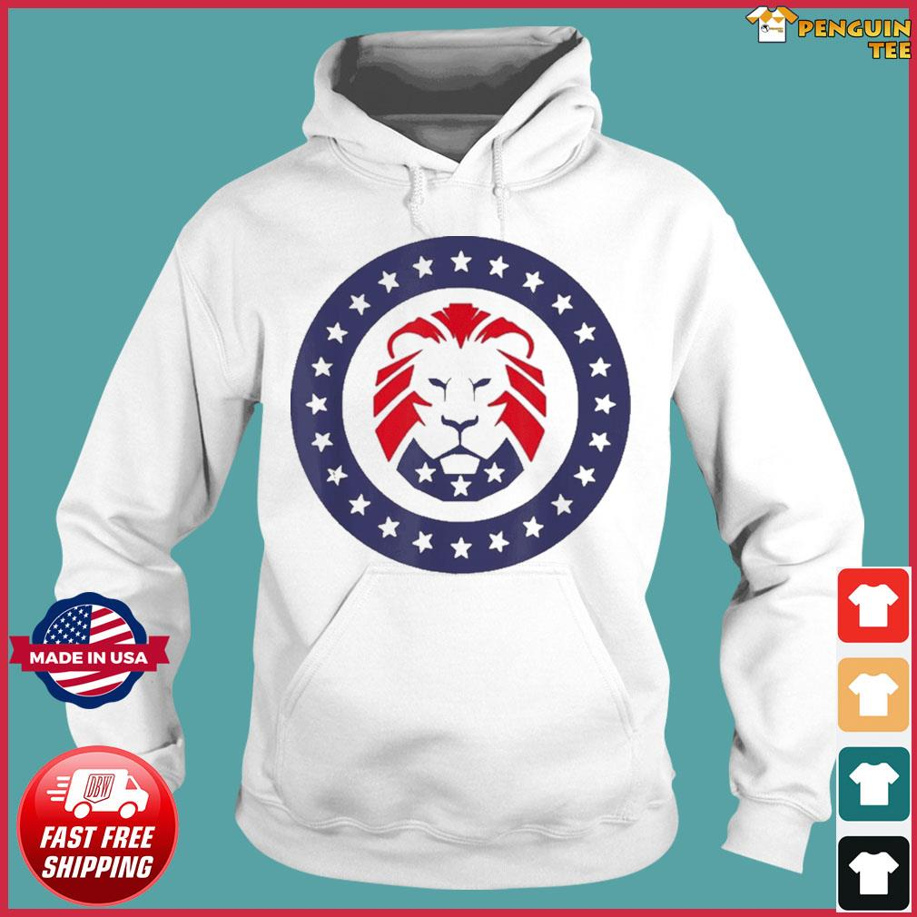 Patriot Party Conservative Lion Patriotic 4th of July T-Shirt Hoodie