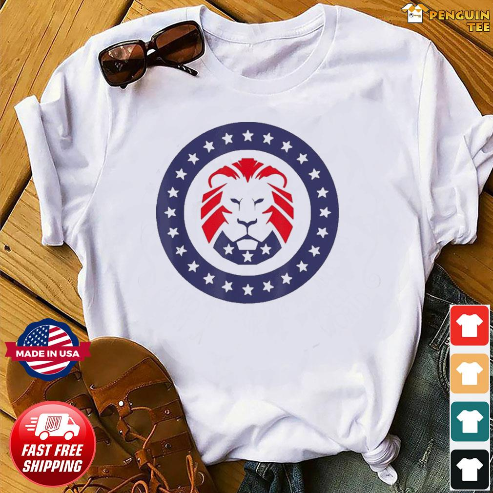 Patriot Party Conservative Lion Patriotic 4th of July T-Shirt