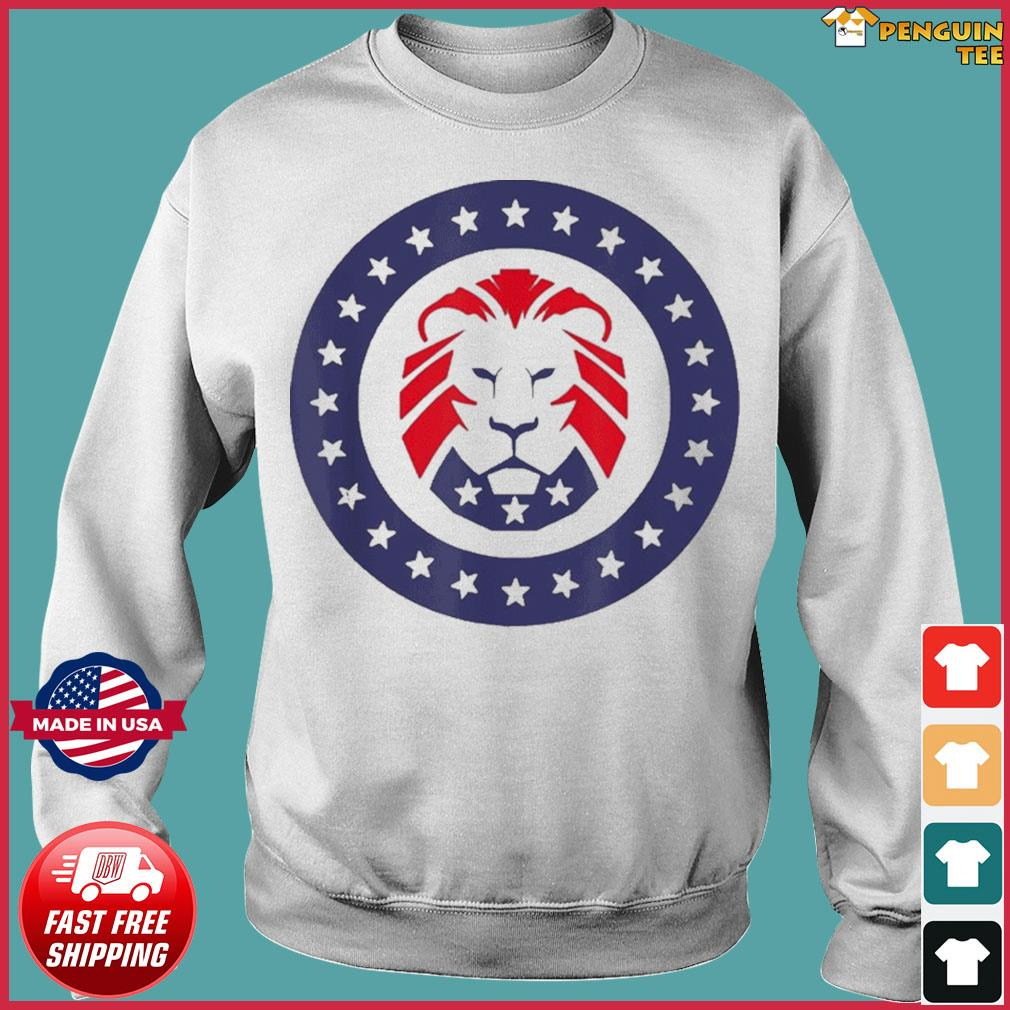 Patriot Party Conservative Lion Patriotic 4th of July T-Shirt Sweater